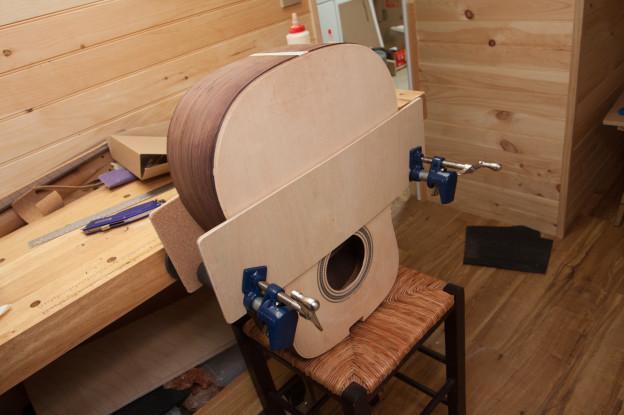 Build day 22: Top Binding Glued!