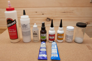 My glue collection